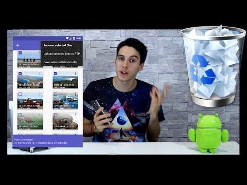 Como Recuperar Fotos y Videos BORRADOS en Android