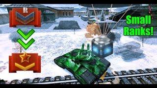 Tanki Online - Juggernaut GoldBox Montage #2! Small ranks!