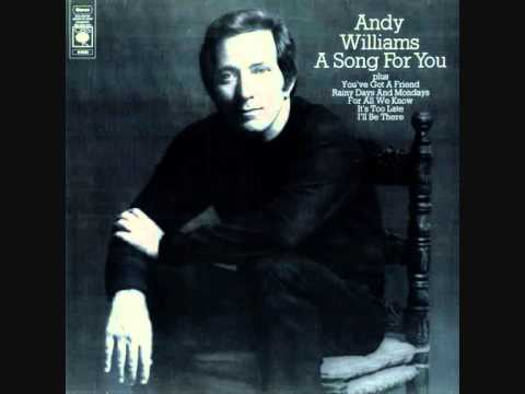 Andy Williams  A Sg for You