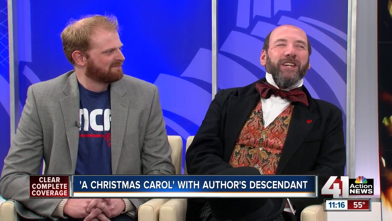 a christmas carol with authors descendant - Author Of A Christmas Carol