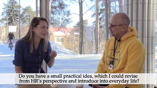 Director of HR Katja Sorri and Professor of Practice Sami Kalaja talk about working at JYU thumbnail