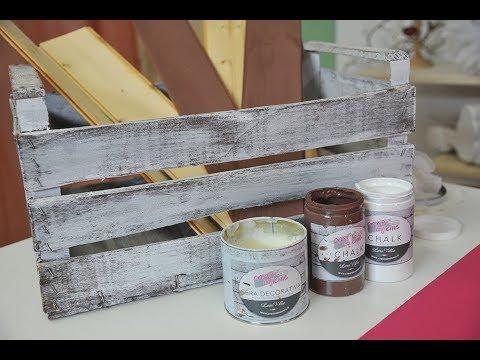 Shab Chic con le pitture Chalk  Lara Vella  1 Parte