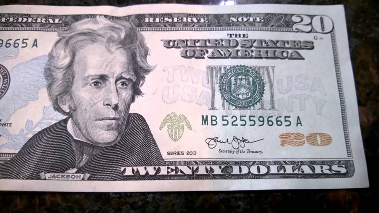 What does the new 100 dollar bill look like 11