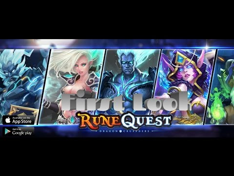 Rune Quest - Dragon Crusaders - First Look Exclusive!!!