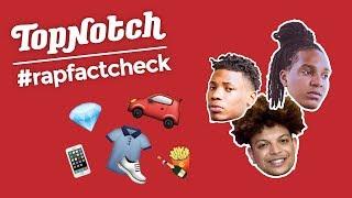 Wat zijn de populairste MERKEN van de NL rapgame? | #RAPFACTCHECK