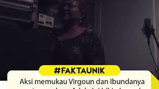 Aksi Virgound dan Ibunya | cover lagu Adele (pantesan suara anaknya bagus)