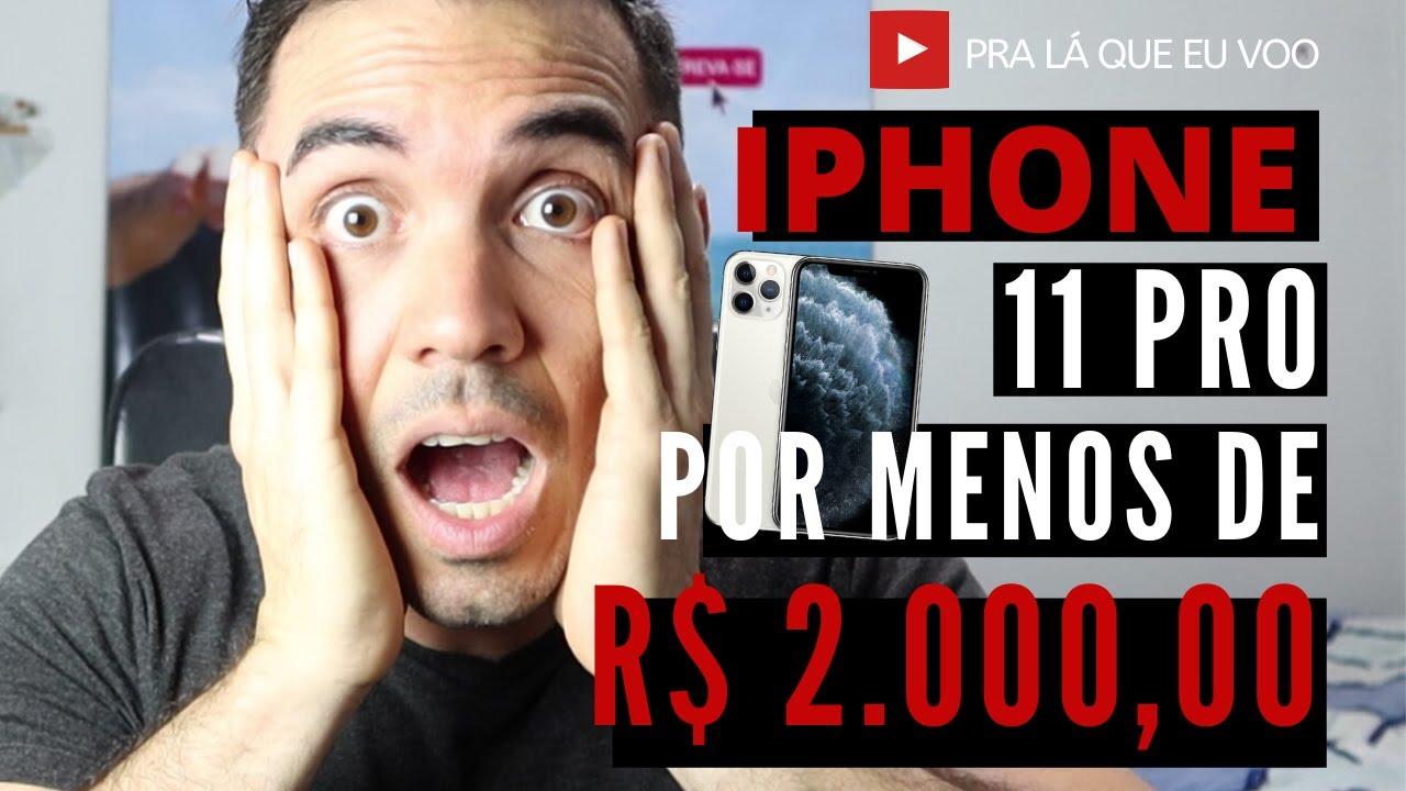 A MELHOR BLACK FRIDAY DE TODAS - Preço do Iphone 11 pro quase de graça!!!