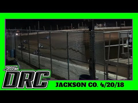 Jackson County Speedway | 4/20/18 | Ohio Valley Roofers Legends Car Series