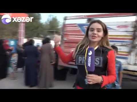BARİŞ PINARI- Azerbaycan Hazar TV(Xezer Tv) Vusale Abbasova`nın Haberi
