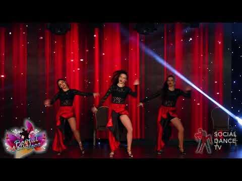 Makriss Dance Ministry (Fusion Girls) - Show   Beirut Salsa Loca 2018