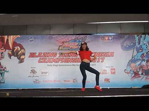 Cindy Wang Full Performance - Blazing Teens Indonesia Championship 2017