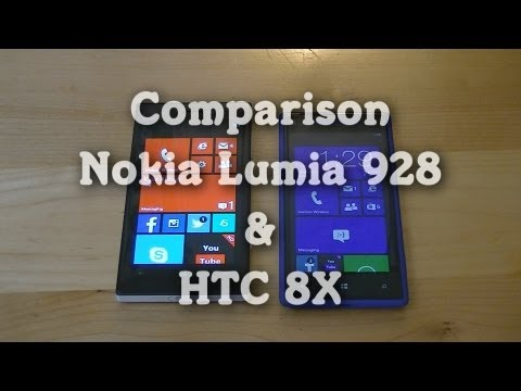 Comparison: Nokia Lumia 928 & HTC 8X