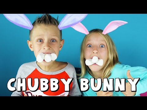 Chubby Bunny Challenge / GamerGirl and RonaldOMG