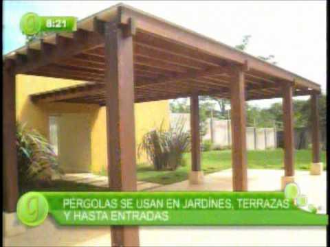 Pergolas de madera y decks costa rica tel 2223 0000 www for Balancines de madera para jardin