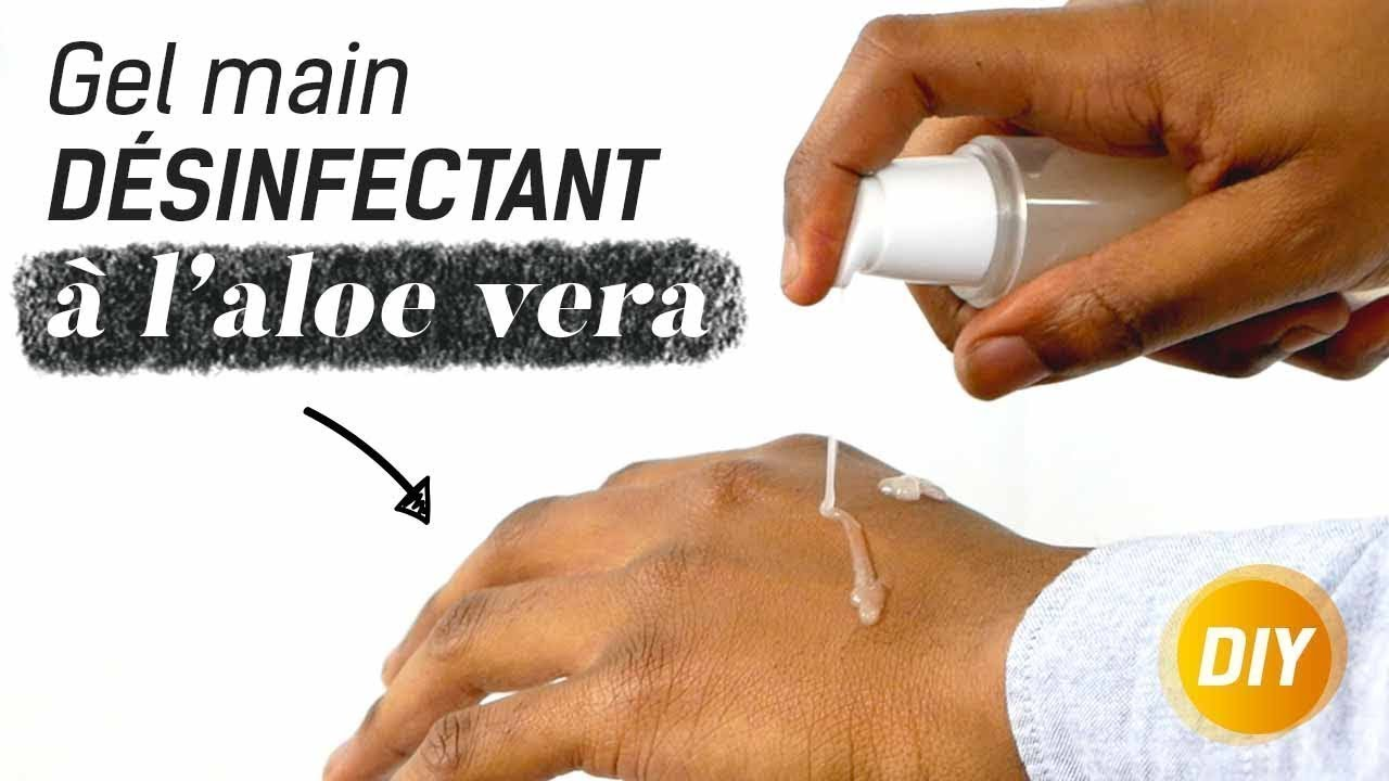 Comment Realiser Un Gel Desinfectant Pour Les Mains 100 Naturel