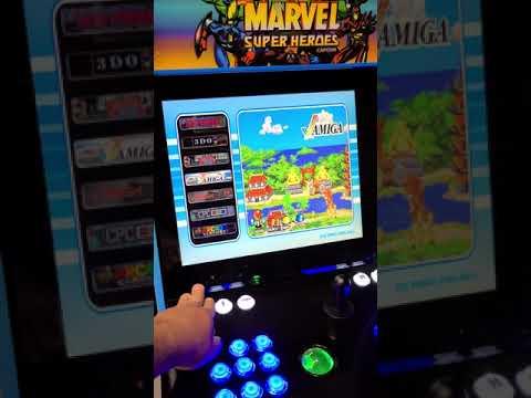 Arcade1up marvel upgrade 13000 games from J M Arcades