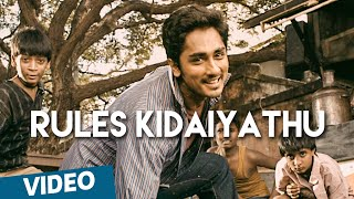Rules Kidaiyathu Official Video Song | 180 | Siddharth | Priya Anand