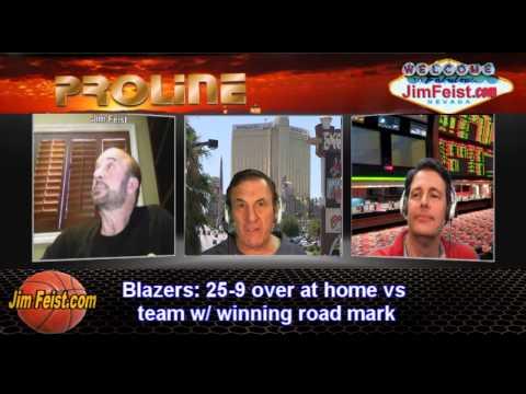 2014 NBA Playoffs San Antonio Spurs vs. Portland Blazers Games 3 + 4, May 10, 2014