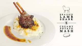 Braised Lamb Shank With Potato Mash