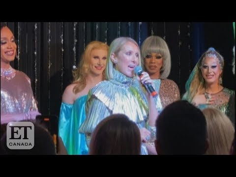 Celine Dion Surprises At Drag Queen Bar