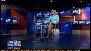 Jamie Colby Sexy Leg Show