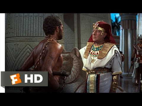 The Ten Commandments (8/10) Movie CLIP - Moses is Arrested (1956) HD