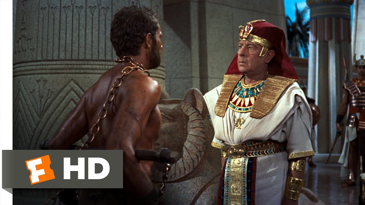 Image result for pharaoh condemns moses 10 commandments