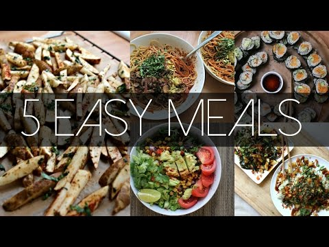 My Top 5 Go To VEGAN Meals On The Starch Solution