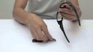Oakley Canteen Sunglasses Lenses Replacement(Installation/Removal)