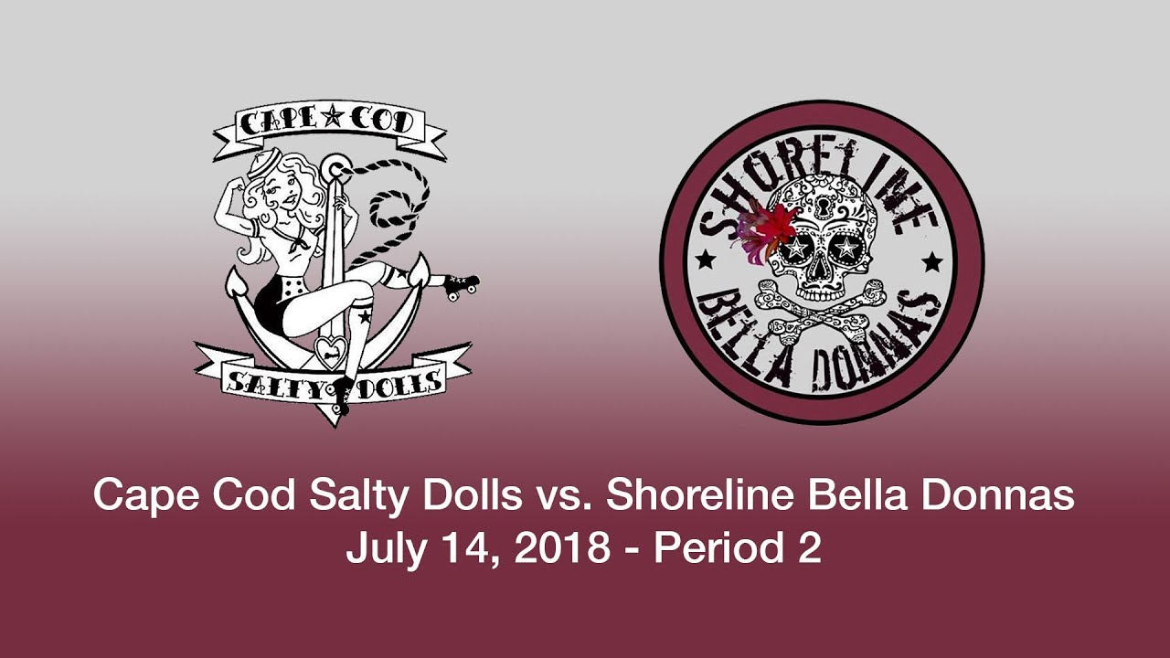 Cape Cod Salty Dolls vs. Shoreline Bella Donnas (7/14/18) Part 2