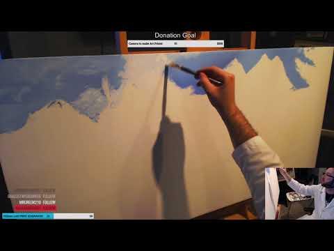 Landscape Oil Painting Part 1: The Sky