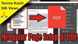 【Tutorial】 Cara Mengatur Page Setup di PDF | Adobe Acrobat Reader DC • Simple News Video