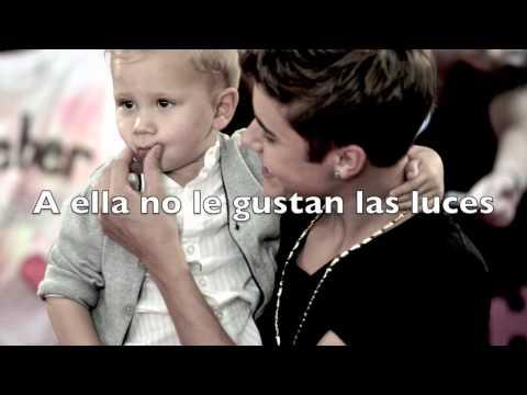 She Don't Like The Lights- Justin Bieber Traducida al español