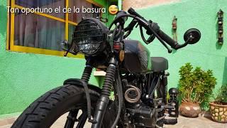 Italika Ft 150 ts Modificada, Proyecto Café Racer