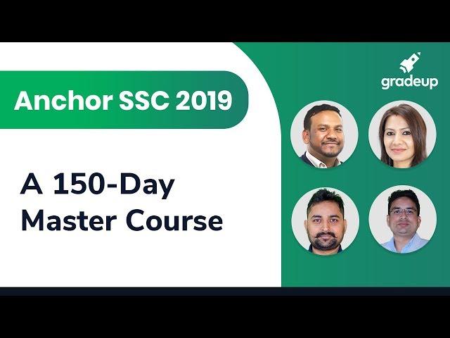 Anchor SSC 2019  A 150 Day Master Course