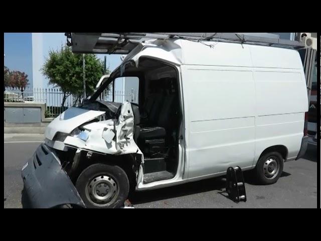 icaro Tv. Incidente in via Dati a Viserba