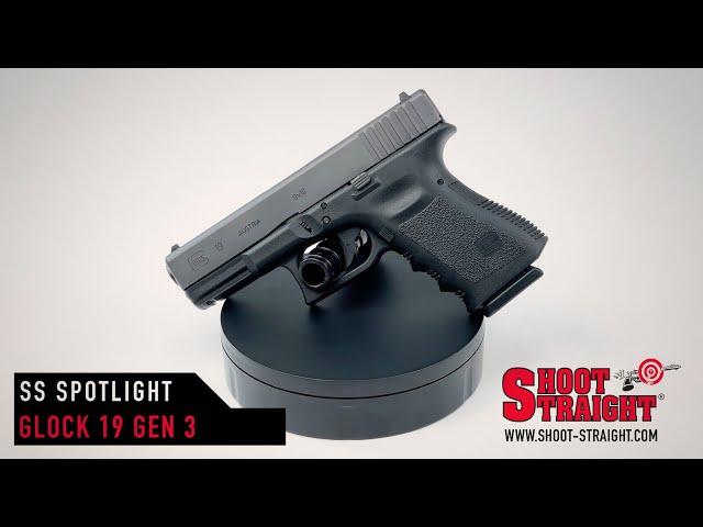 Glock 19 Gen3  9mm Pistol - Shoot Straight Spotlight