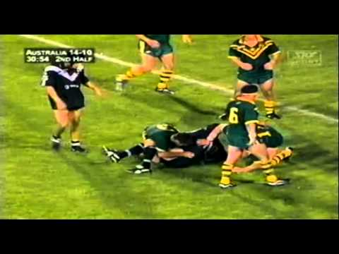 New Zealand v Australia 1999 Tri-Nations Final Rugby League