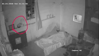 Real Ghost attack captured on Cctv camara | scary videos | scary Ghost videos | paranormal Activity