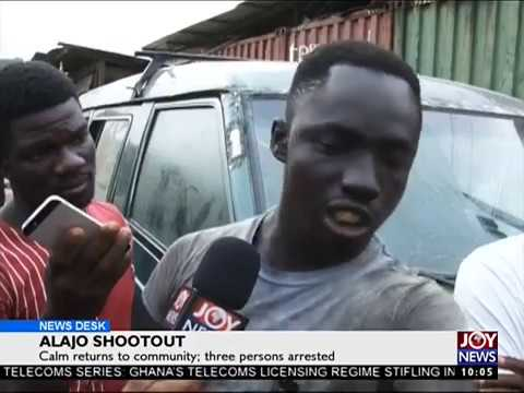 Alajo Shootout - News Desk on Joy News (9-8-17)