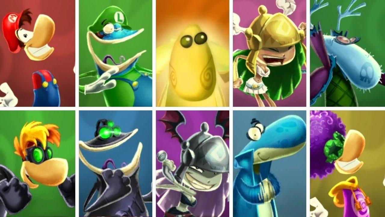 Rayman Legends Globox