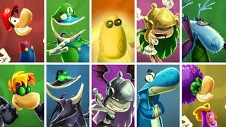 Rayman Legends - All Characters