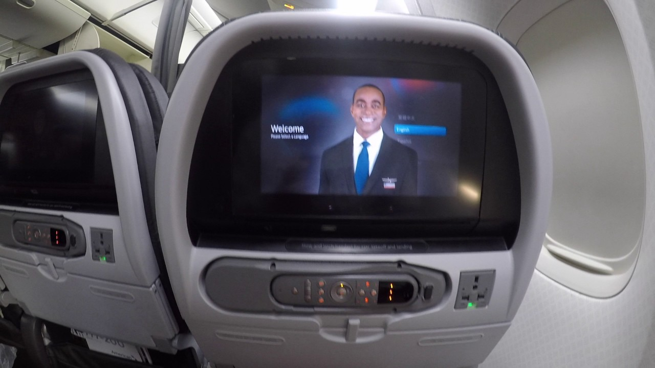 Trip Report American Airlines Economy Class Mce 777