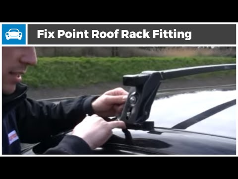Ford Fiesta Roof Rack >> MicksGarage |Fix Point Roof Rack fitting Demonstration - YouTube