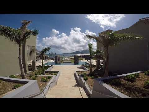 Park Hyatt St. Kitts: Walk to Pool