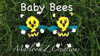 Rainbow Loom Baby Bee Charm: How To