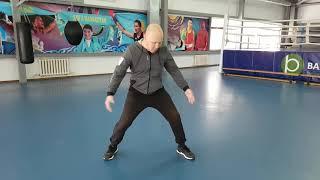 Уроки бокса 10 . Работа ног в боксе.