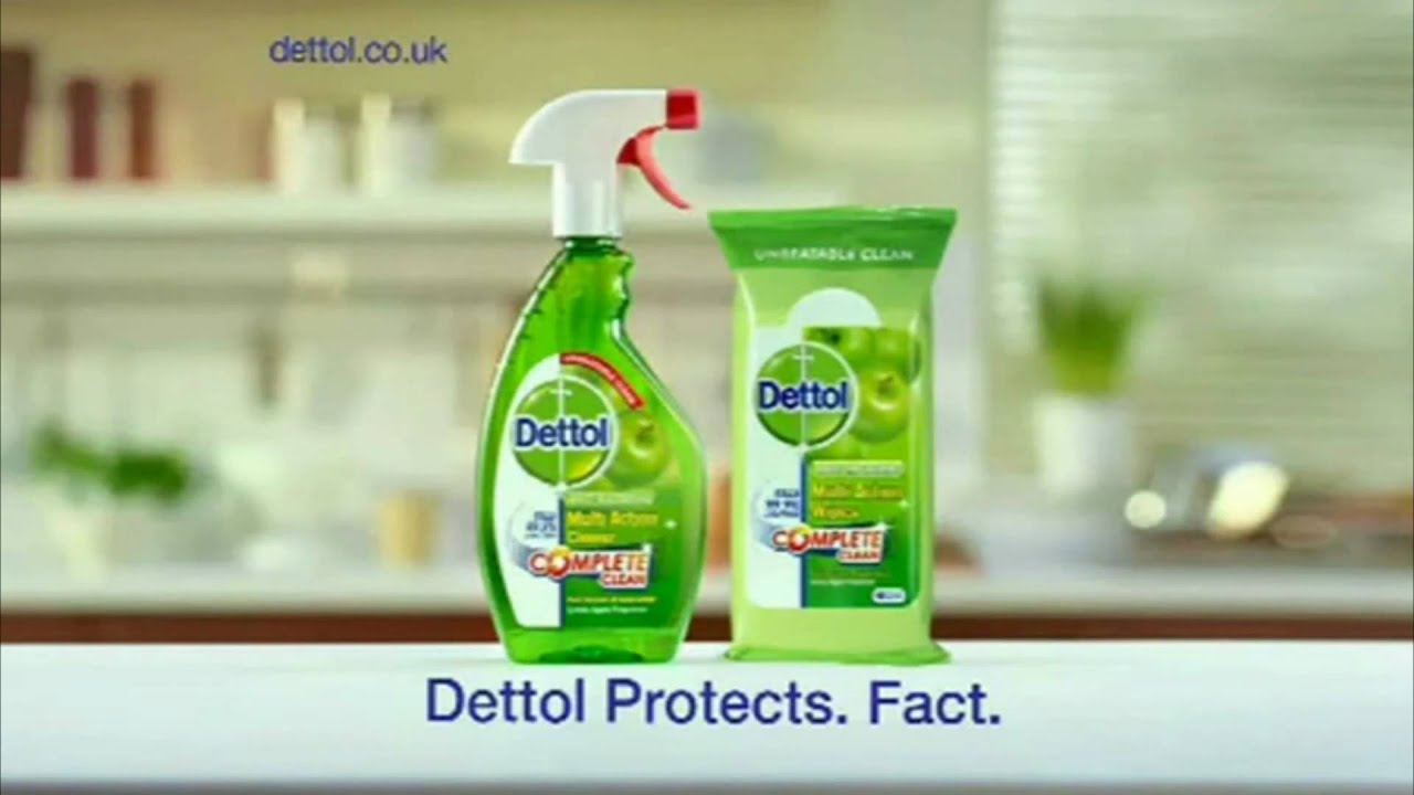 advertising dettol Dettol is a brand since 1950's their product line includes a number of items they call hygiene products it's a common myth that killing all the bacteria around you is.