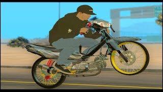 Nyeting Jupiter z Drag 130cc New Update Drag Gta sa + Link video by Aditya Wahyu Pradana