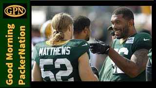 Clay Matthews, Julius Peppers, and Prep for the Raiders